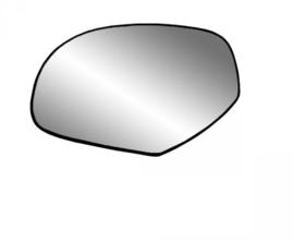 Spiegelglas Links 07-14 verwarmd met backing plate.