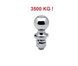Trekhaakkogel 3500 KG Chroom M22 schroefdraad