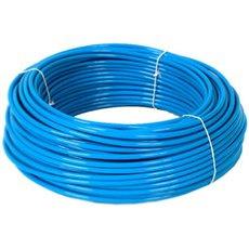 Luchtslang 6 mm blauw tbv insteek koppelingen, per meter.