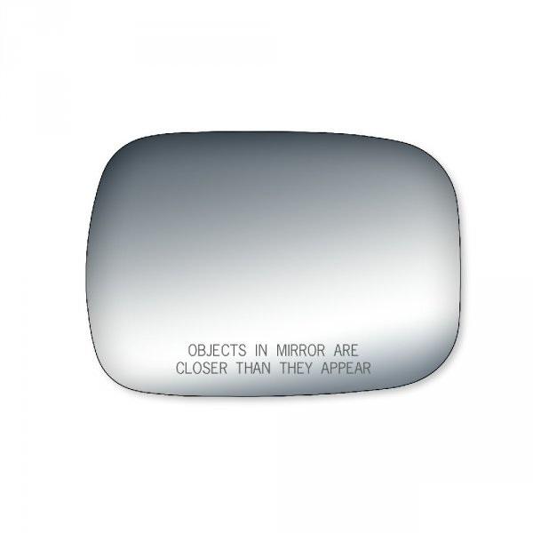 Spiegelglas Rechts met tekst Full size PU 88-02
