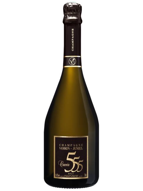 1 fles Champagne Cuvée 555  -UITVERKOCHT-