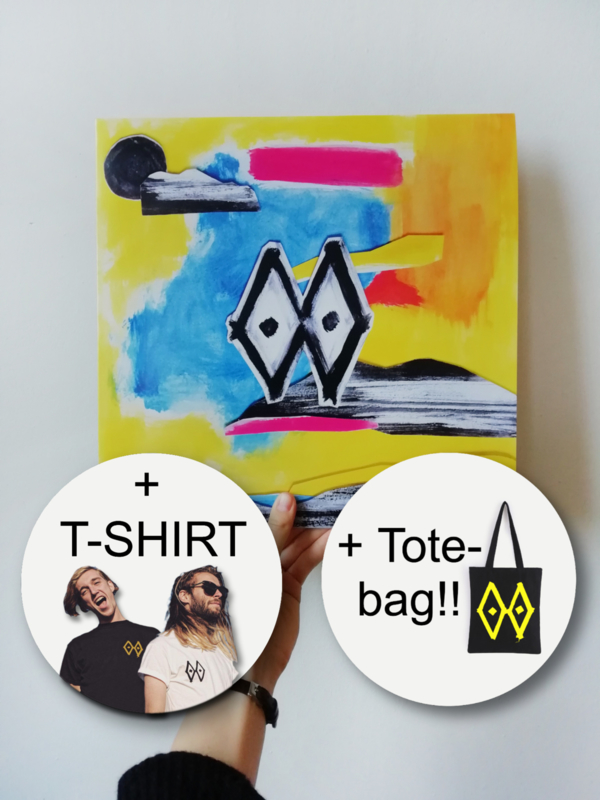 COMBI DEAL - VINYL + TOTE + SHIRT