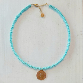 Ketting grote rocailles