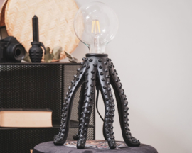 HV Octopus Lamp Zwart