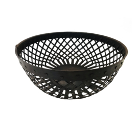 iron basket | ø31x11 | zwart