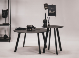 HV Metalen tafel 70x70x39cm