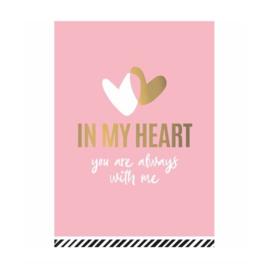 Ansichtkaart - In my heart