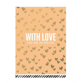 Ansichtkaart - With Love