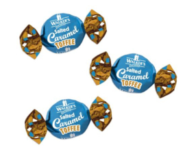 walkers salted caramel 100 gram