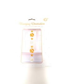 hanging decorations wit/goud
