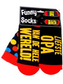funny socks liefste opa