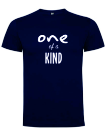 T-shirt - one of a kind - (wit of marine)