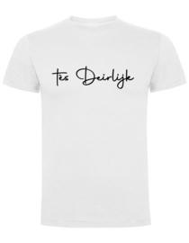 T-shirt Man - tès Deirlijk -