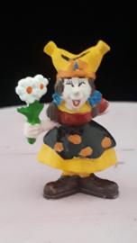 Kabouter Kwebbel met bloemetje