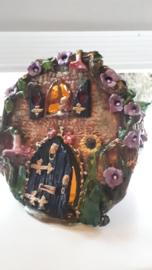 Elfen miniaturen wereld in Bloempot