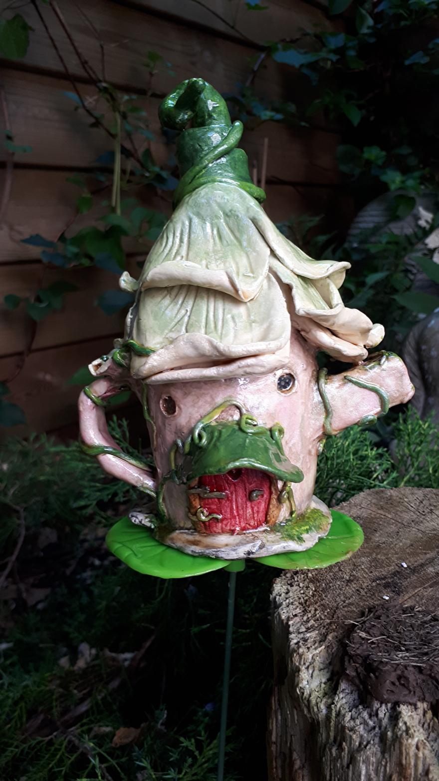 Tinkerbels theepot tuinsteker