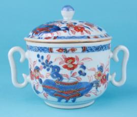 Imari jar and cover