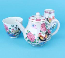 Yongzhen rooster porcelain.