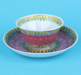 Yongzhen cup and saucer