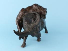 Bronzen stier