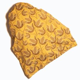 Slaapmutsje  Tulp oker