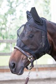 Vliegenmasker Flyshield met oren van Harry's Horse
