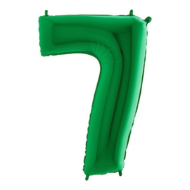 Cijfer 7 groen