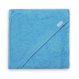 badcape licht blauw