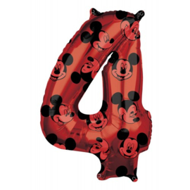 cijfer 4 Mickey