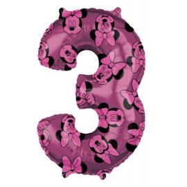 cijfer 3 Minnie
