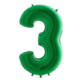 Cijfer 3 groen