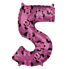cijfer 5 Minnie