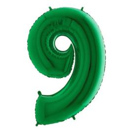 Cijfer 9 groen