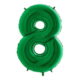 Cijfer 8 groen