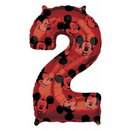 cijfer 2 Mickey