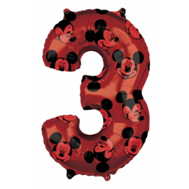 cijfer 3 Mickey