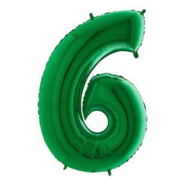 Cijfer 6 groen