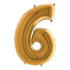 cijfer 6 goud