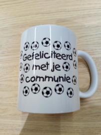 voetbal communie