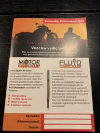 Motorcheckup Vloeistof test 2 in 1 Motorfiets