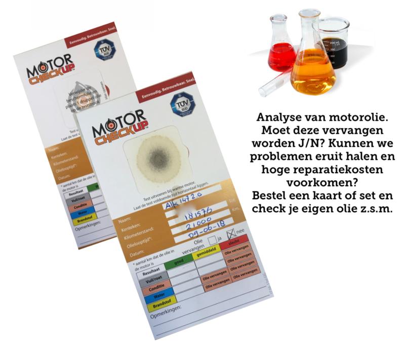Motorcheckup Motorolie test