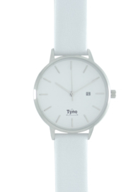 Tyno classic zilver wit 101-001 wit