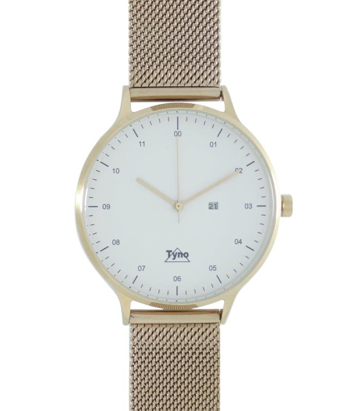 Tyno classic Rosé goud wit 201-004 mesh