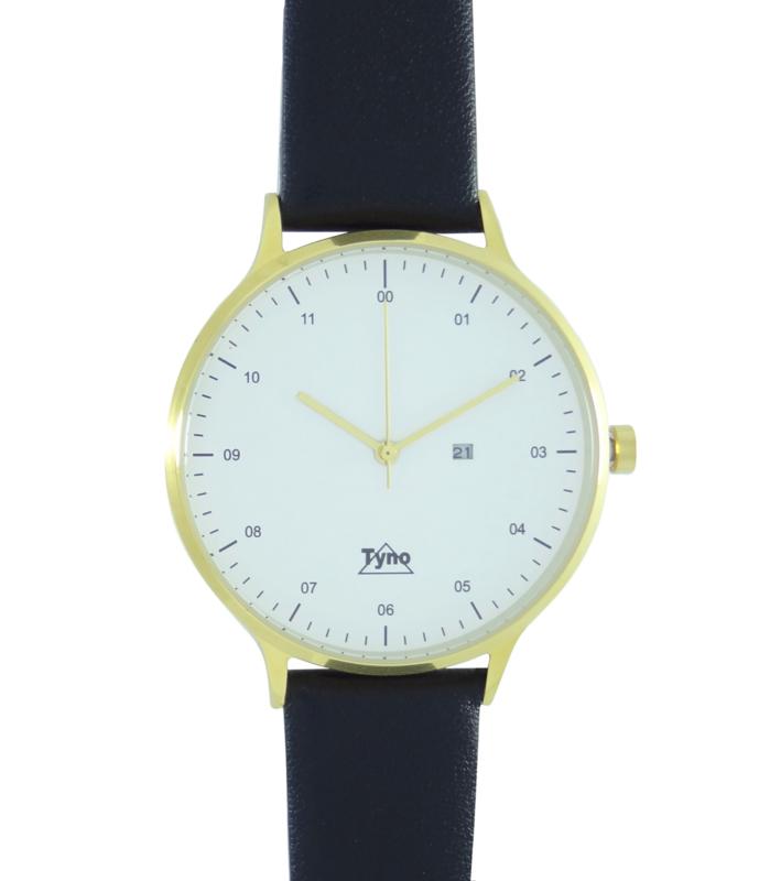 Tyno classic Goud wit 201-007 zwart