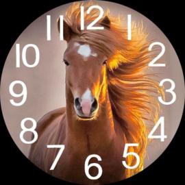Horloge avec cheval