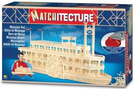 Matchitecture Mississippi boat