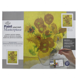 Paint your own masterpiece Sunflowers
