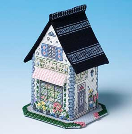 Miniature Shops - The Flower Shop - Forget me Not Flowers