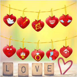 Guirlande de Saint Valentin