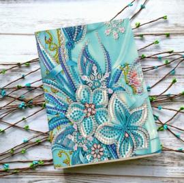 Notebook met lelies